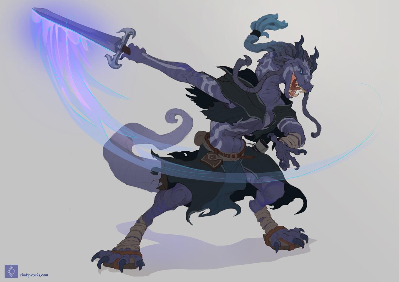 Cindy avelino rall kirax character sketch