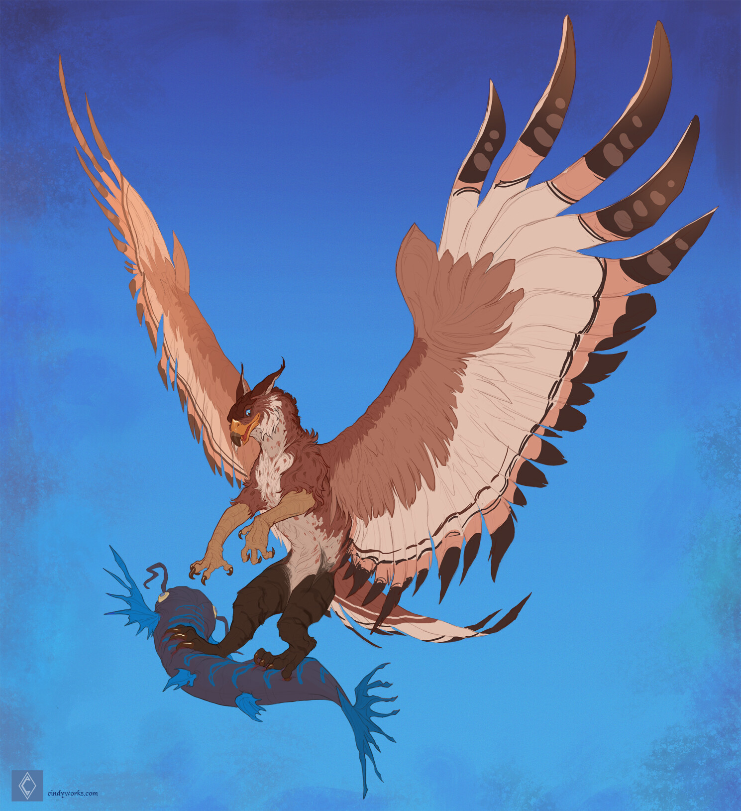 Cindy avelino scottphyrebird character sketch