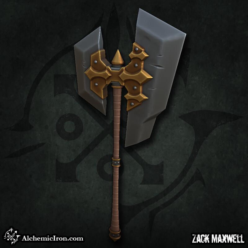 Zack maxwell battleaxe