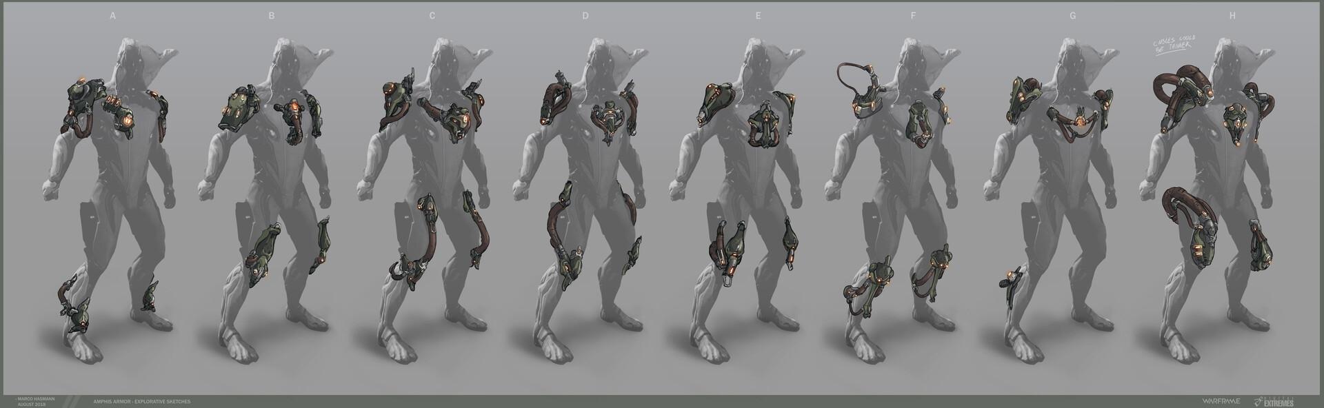 Marco hasmann mh amphis armor sketches