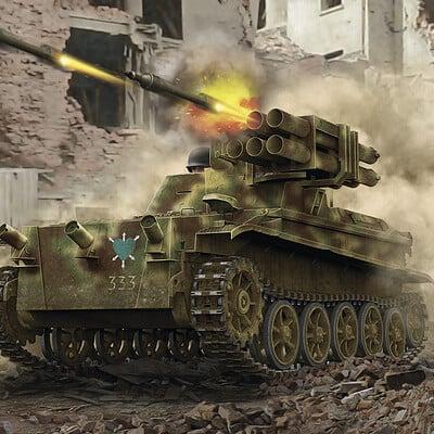 Valery petelin panzerjager wanze