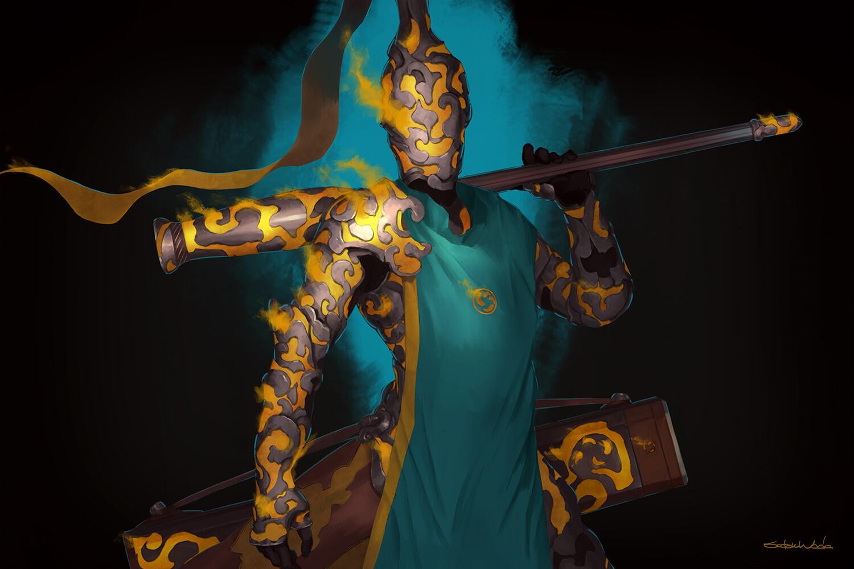 Knight of the Yellow Smoke