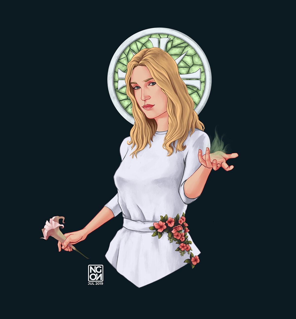 Artstation Faith Seed Far Cry 5 Angela Notari