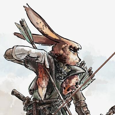 Mustafa ozkan rabbit hunter color kopie 2