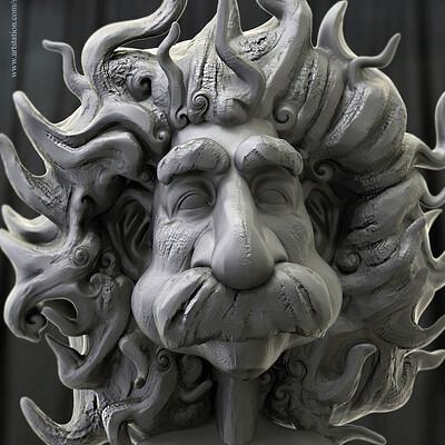 Surajit sen einstein digital sculpture surajitsen jul2019