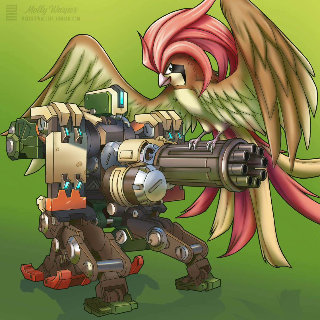 Molly warner bastion pidgeot