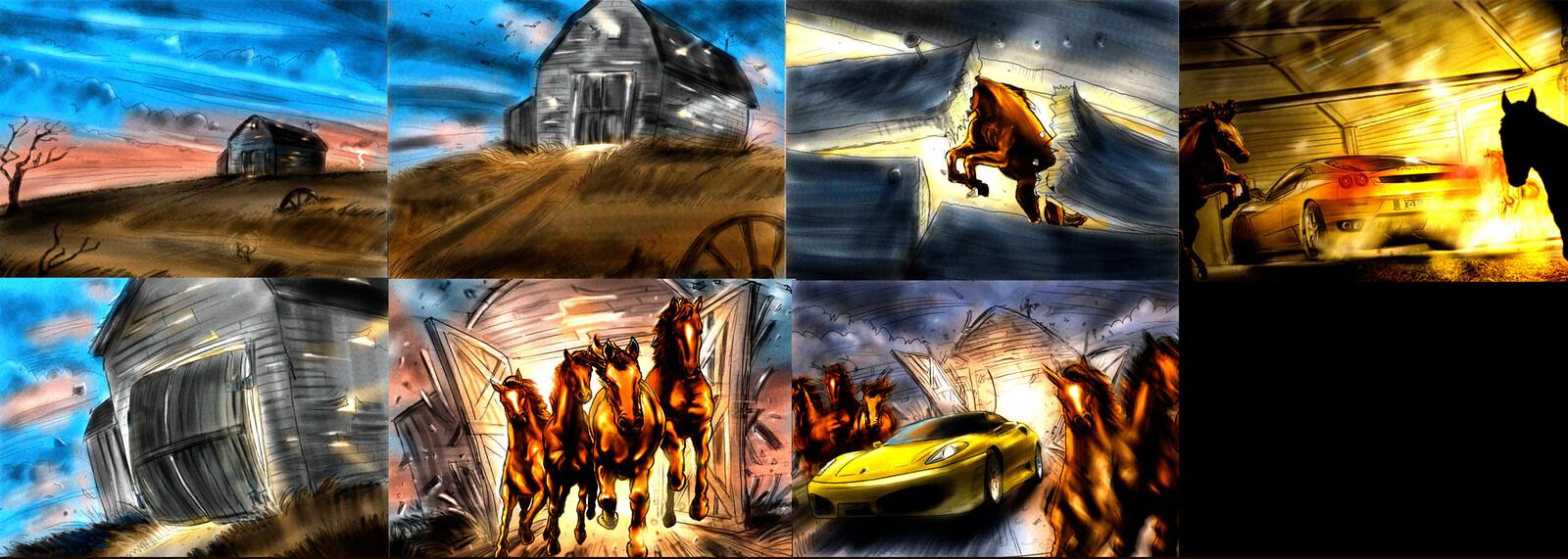 Wild Horse Power :30 tv concept