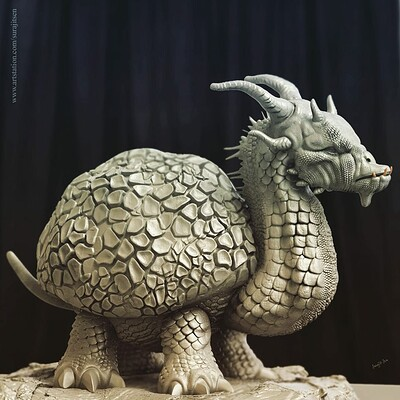 Surajit sen dracturss digital sculpture surajitsen jul2019 e