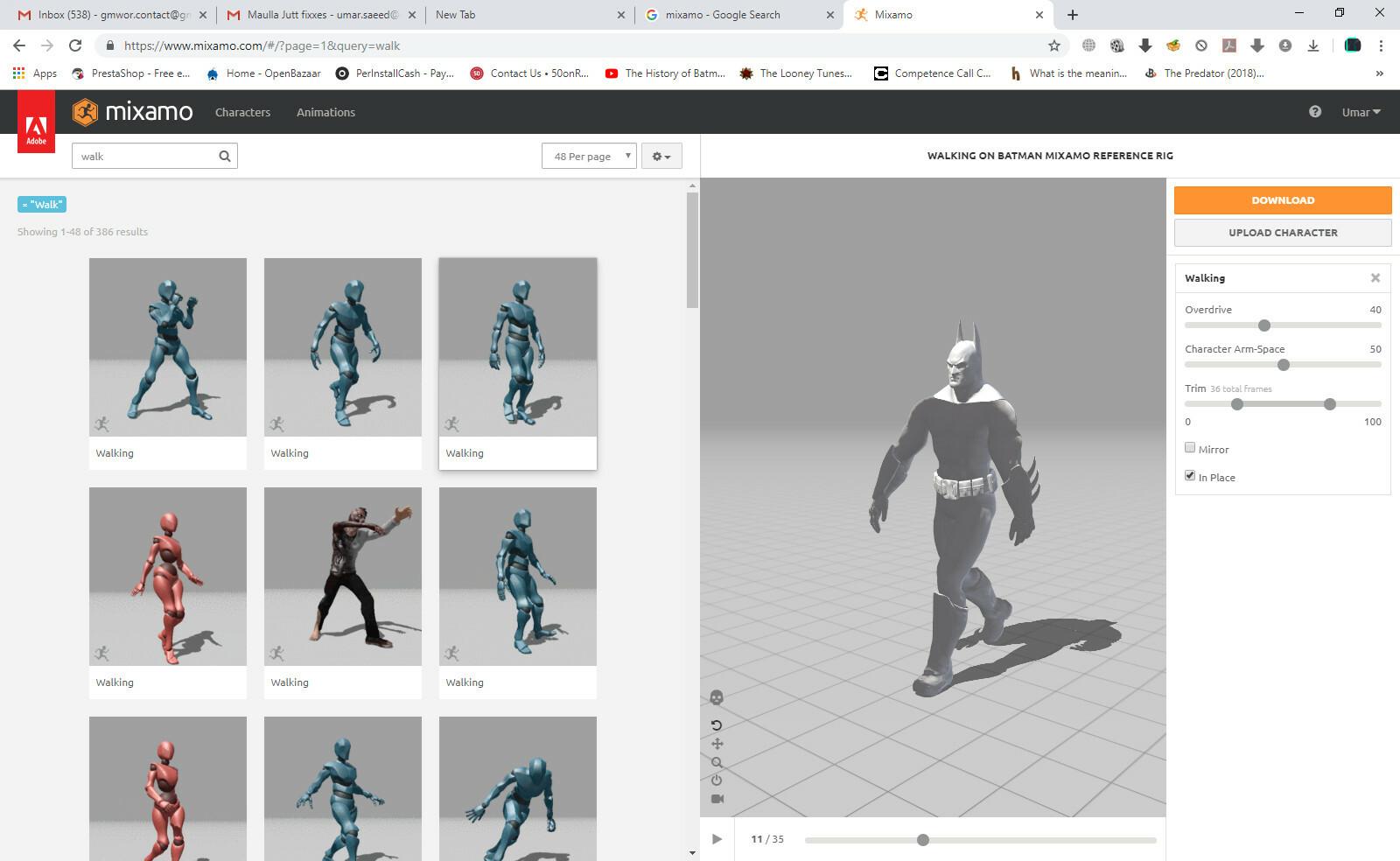 Blender Mocap Files