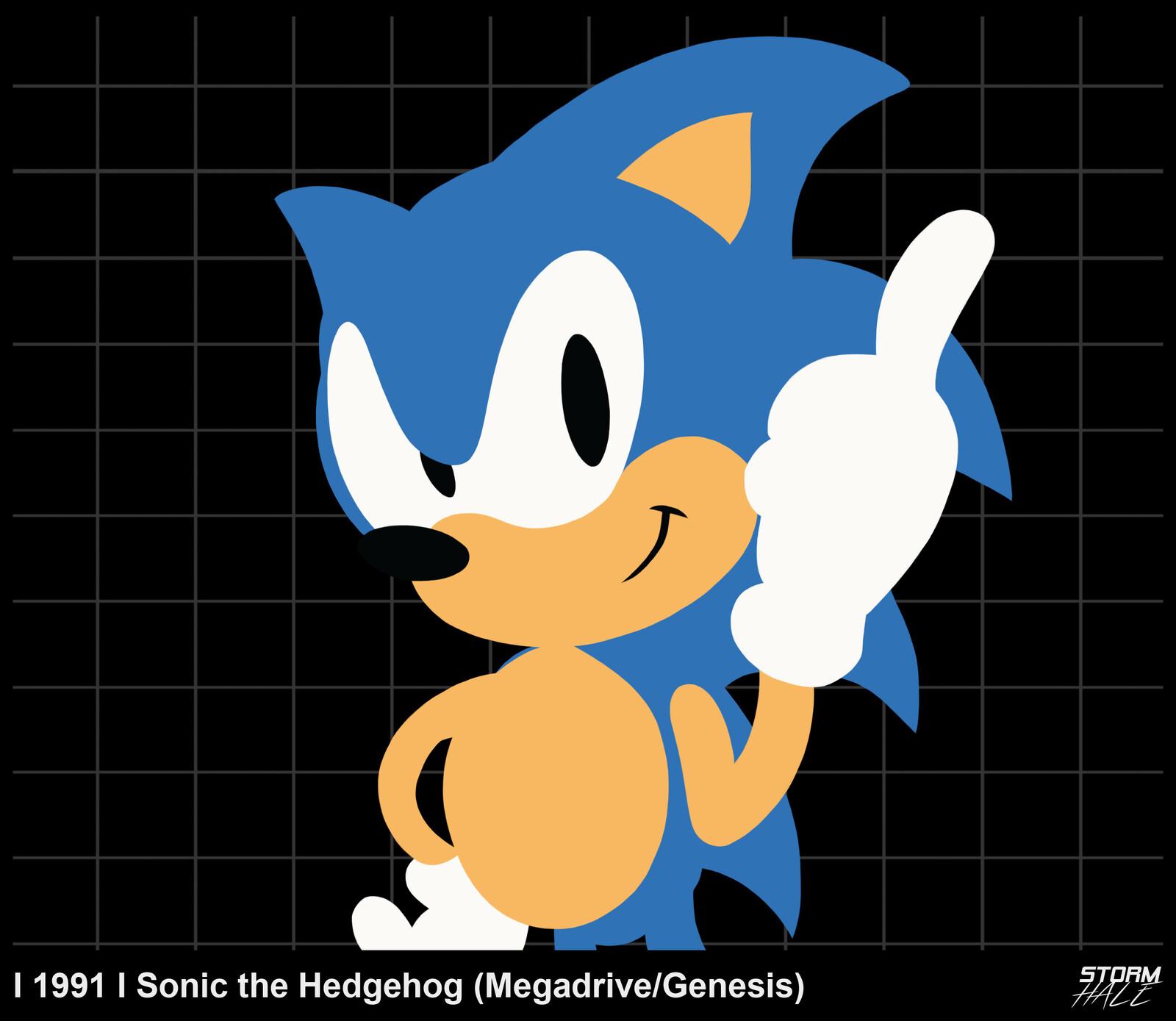 Artstation Sonic The Hedgehog Timeline Chris Sankey