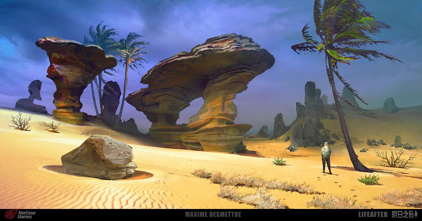Life After - Desert - Eroded Rocks (2018)