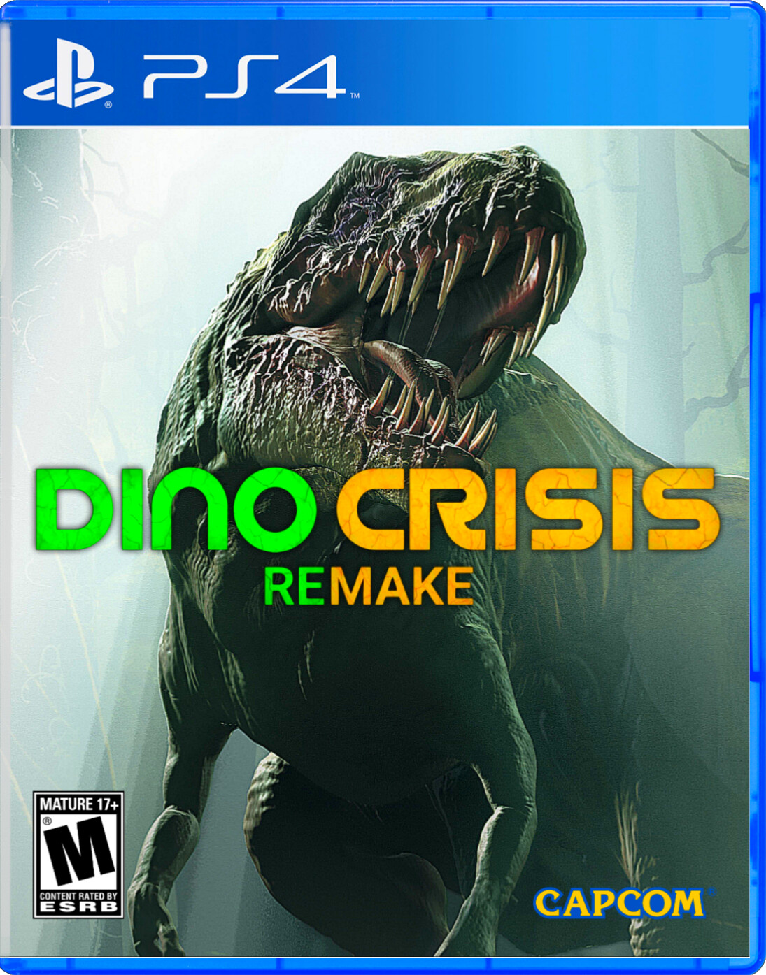 CANAL Gamerk informe - DINO CRISIS REMAKE COVER PNG