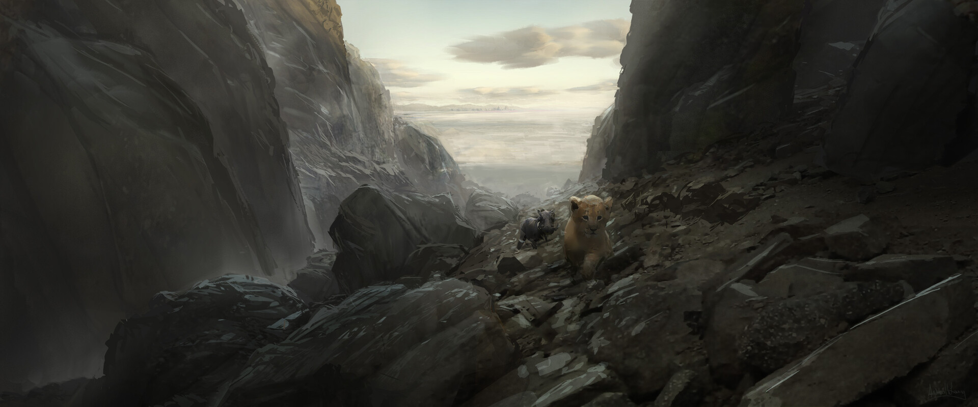 Andrew Leung Concept Design Work For Disney S The Lion