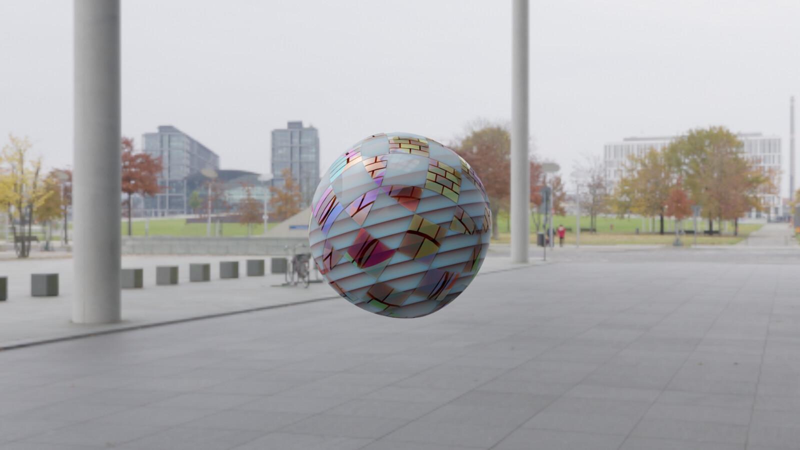 first test with procedural materials. Animation from all angles: https://www.deviantart.com/leowattenberg/art/Generated-Ball-806699372