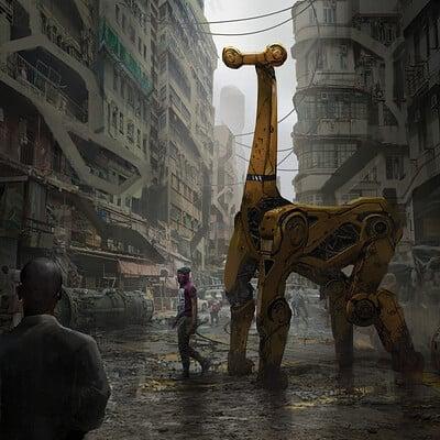 Eddie mendoza giraffe mech final