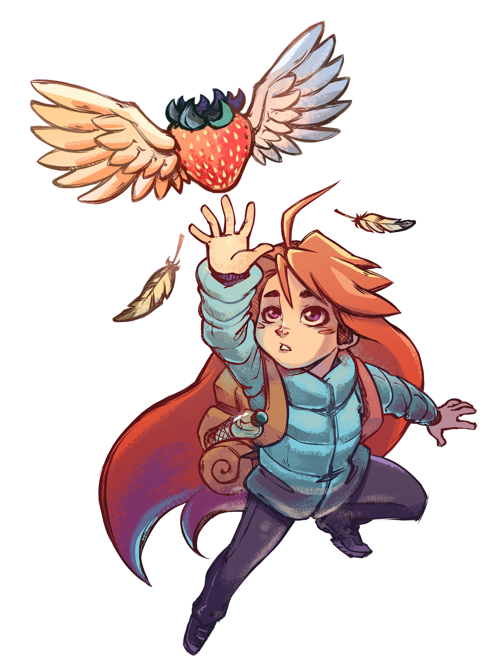Original Concept from the amazing game Celeste :)