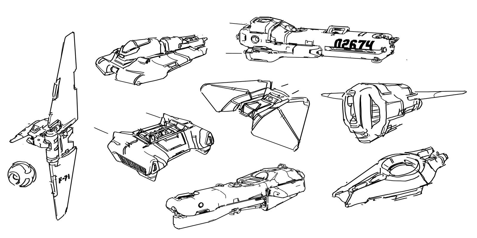 some random ships