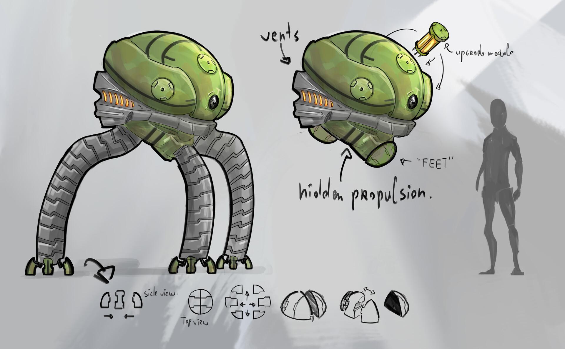 Arnesson art thomas hugo robot details final final