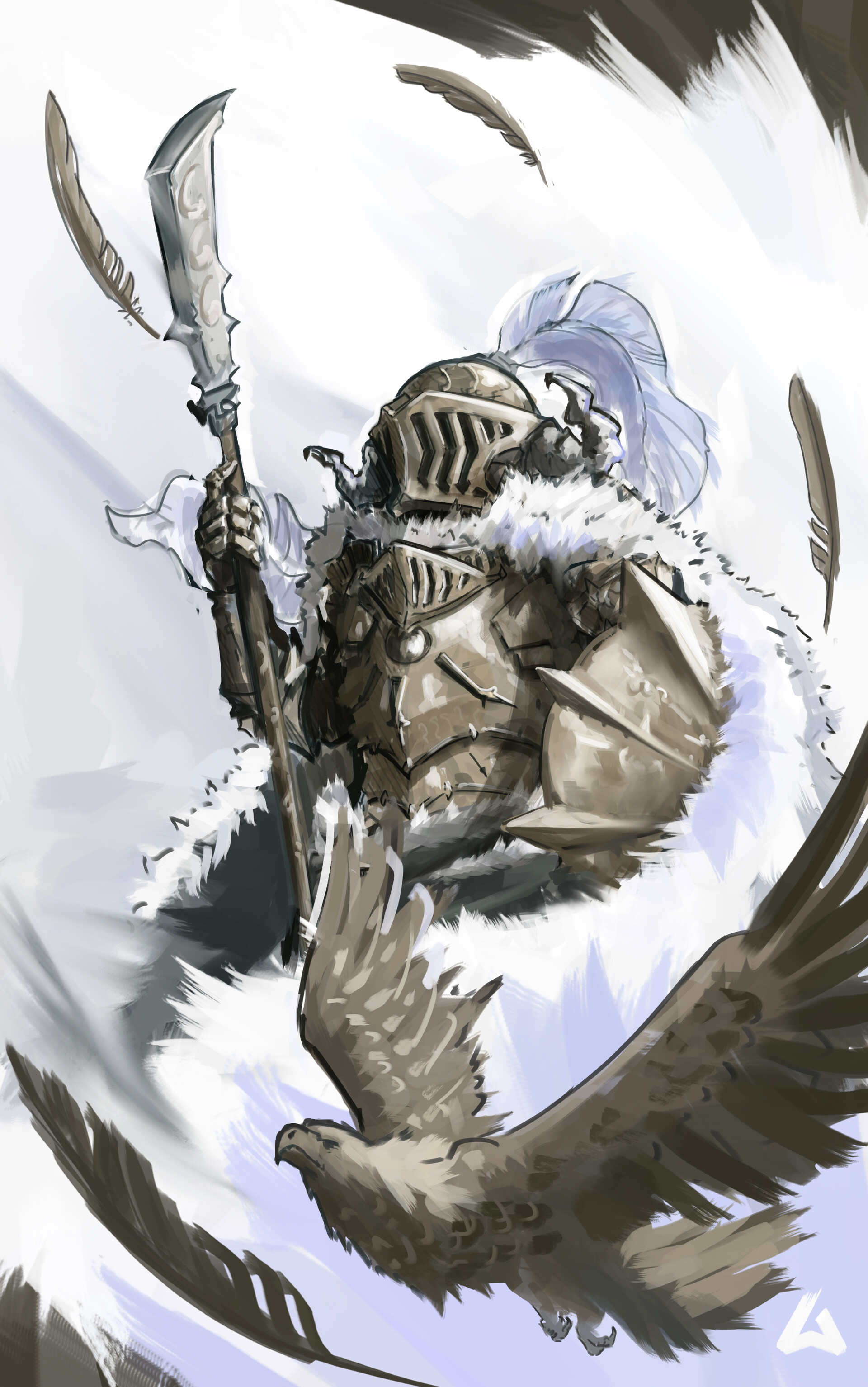 Arnesson art thomas hugo eagle knight
