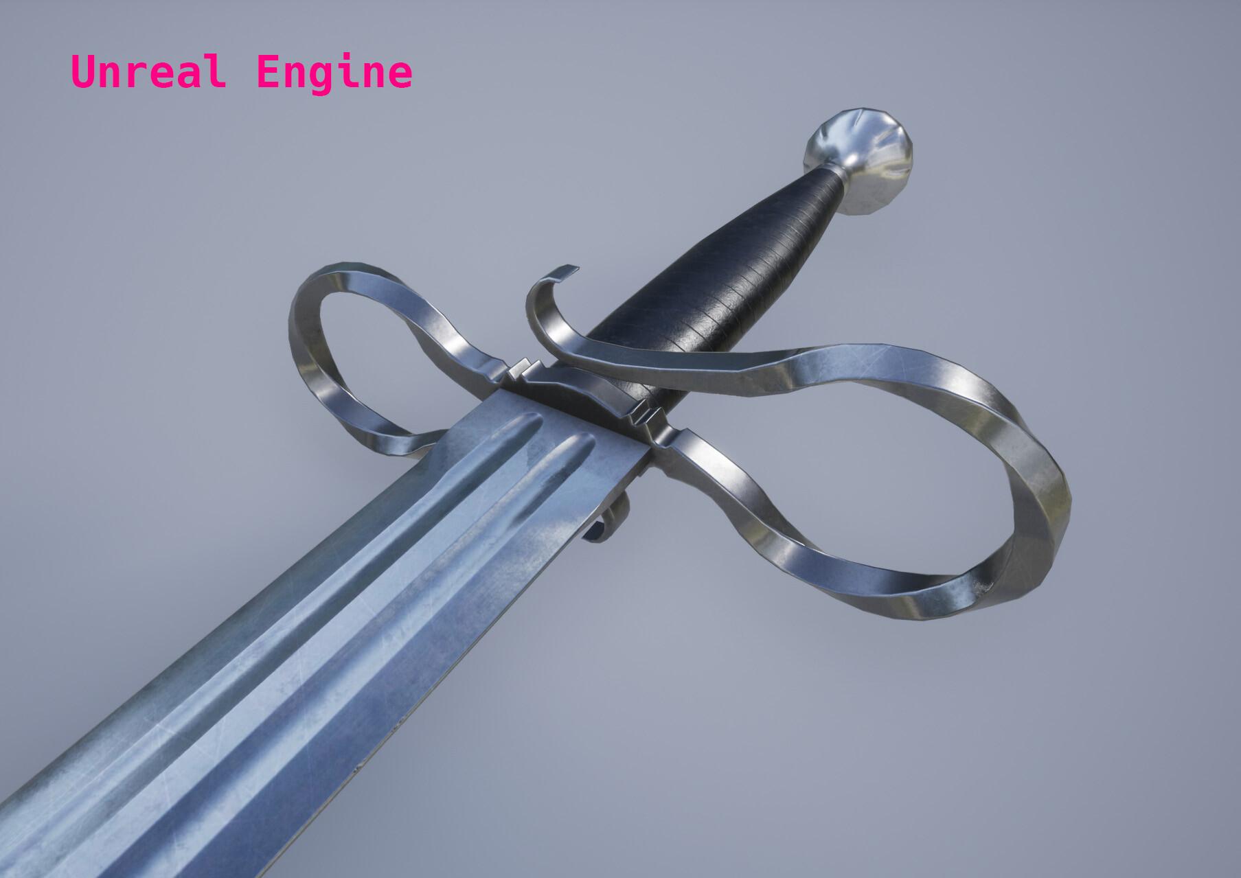 ArtStation - Quillon Sword, Stoyan Dimitrov