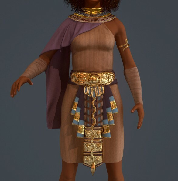 For this tech art project, I used my original character Amani that I created for my class with Adam Skutt. Her clothes were originally created in Marvelous Designer.