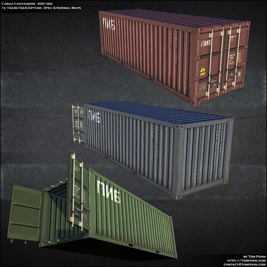 Tom poon cargocontainers