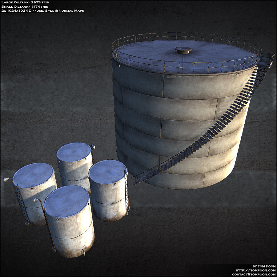 Tom poon oiltanks
