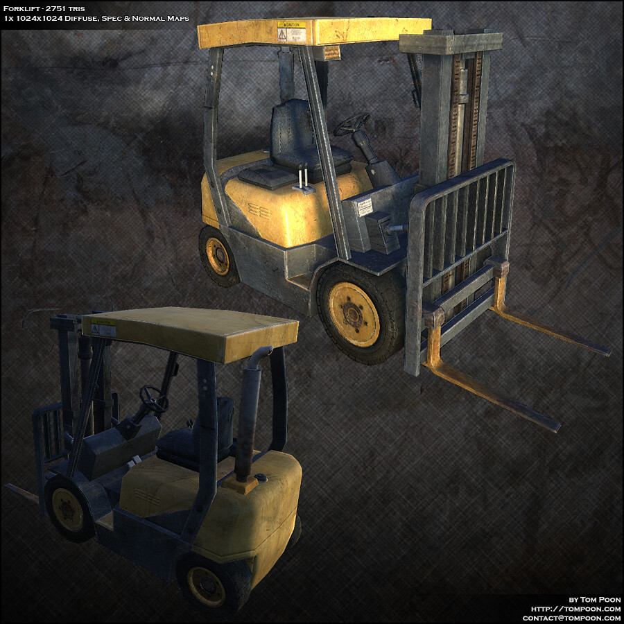 Tom poon forklift beauty
