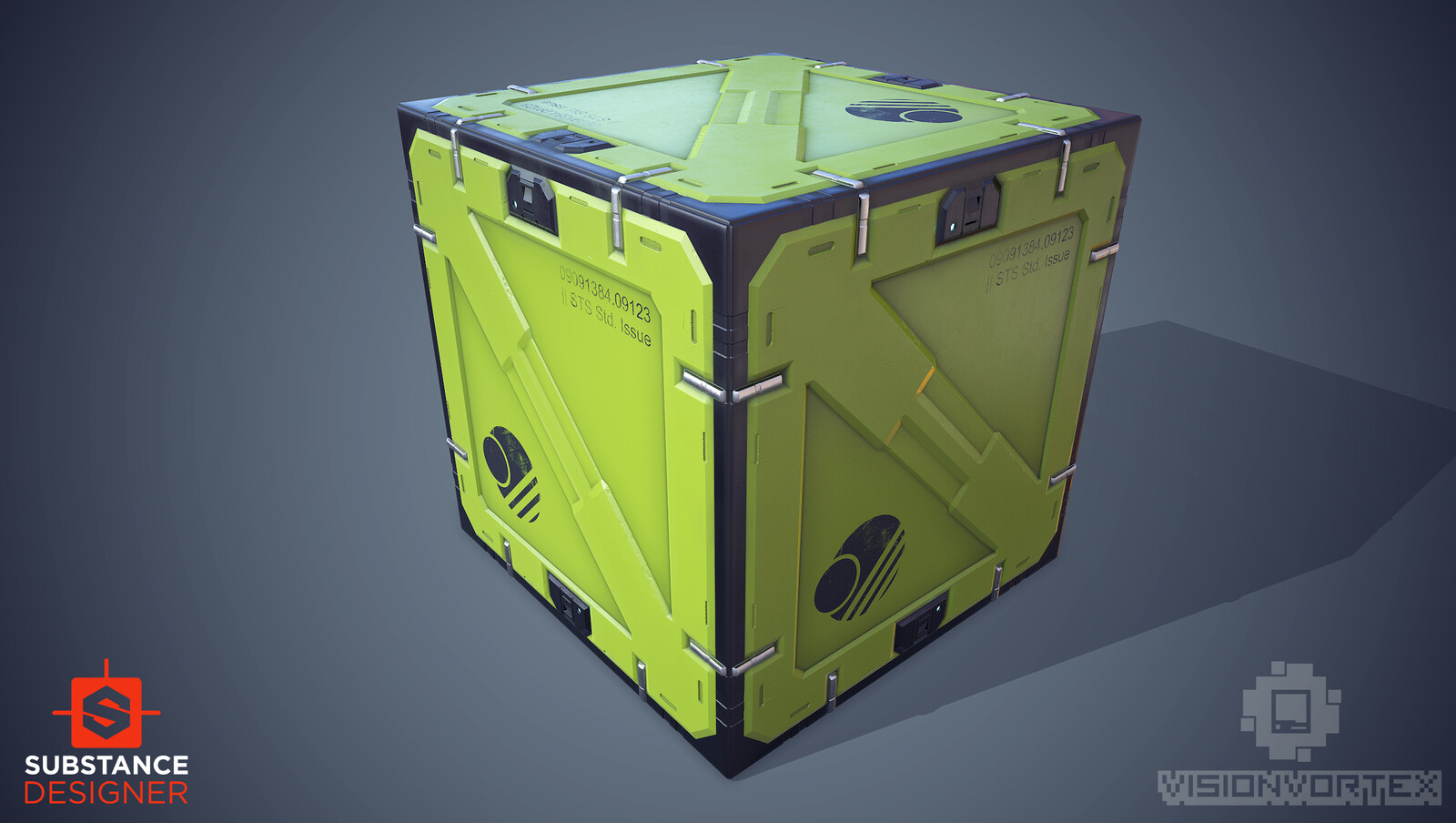 SciFi Crate Substance