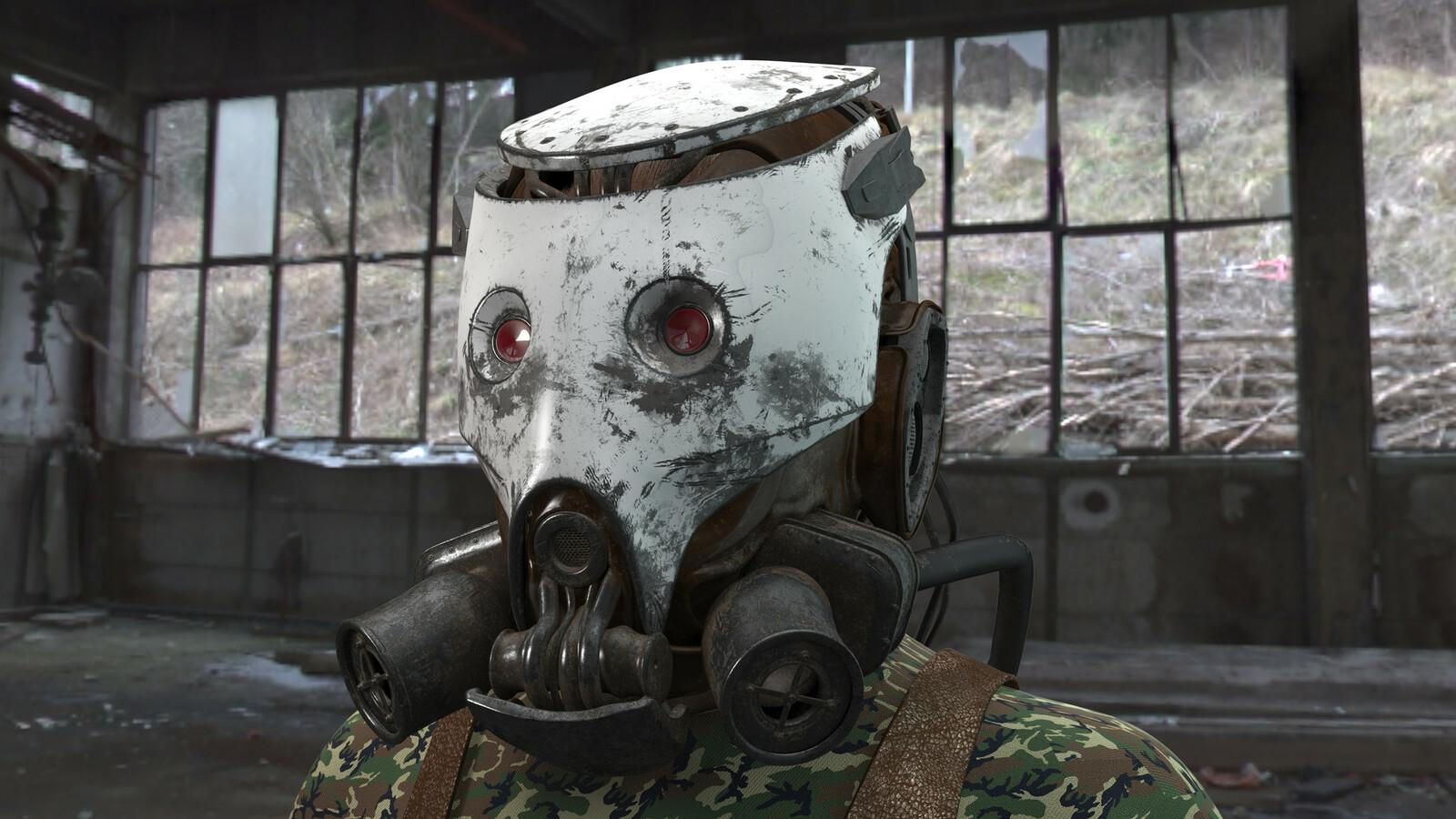 Gas Mask - Robert Simons  Concept
