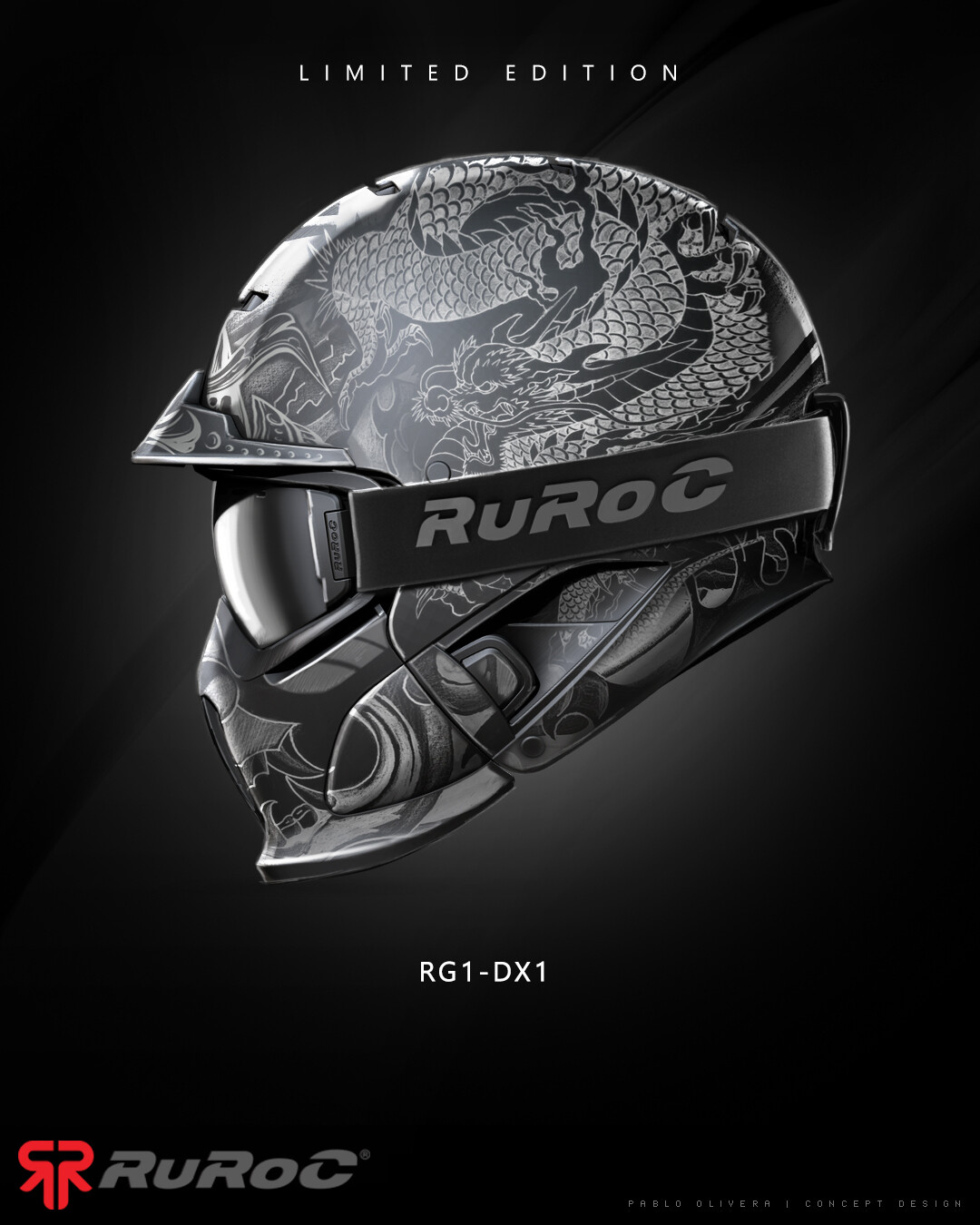 Ruroc - RG1 helmet design