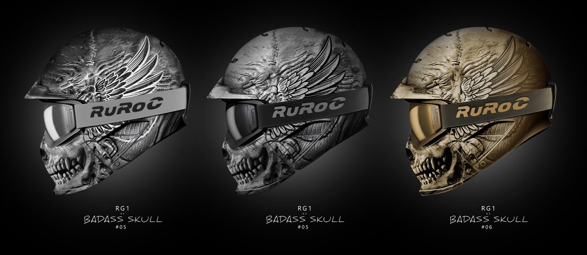 Pablo olivera ruroc bx ass skull 4