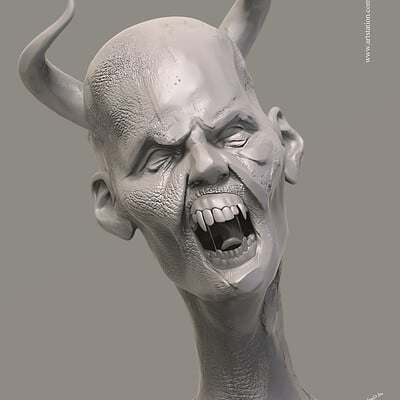 Surajit sen creature digital sculpting surajitsen jul2019