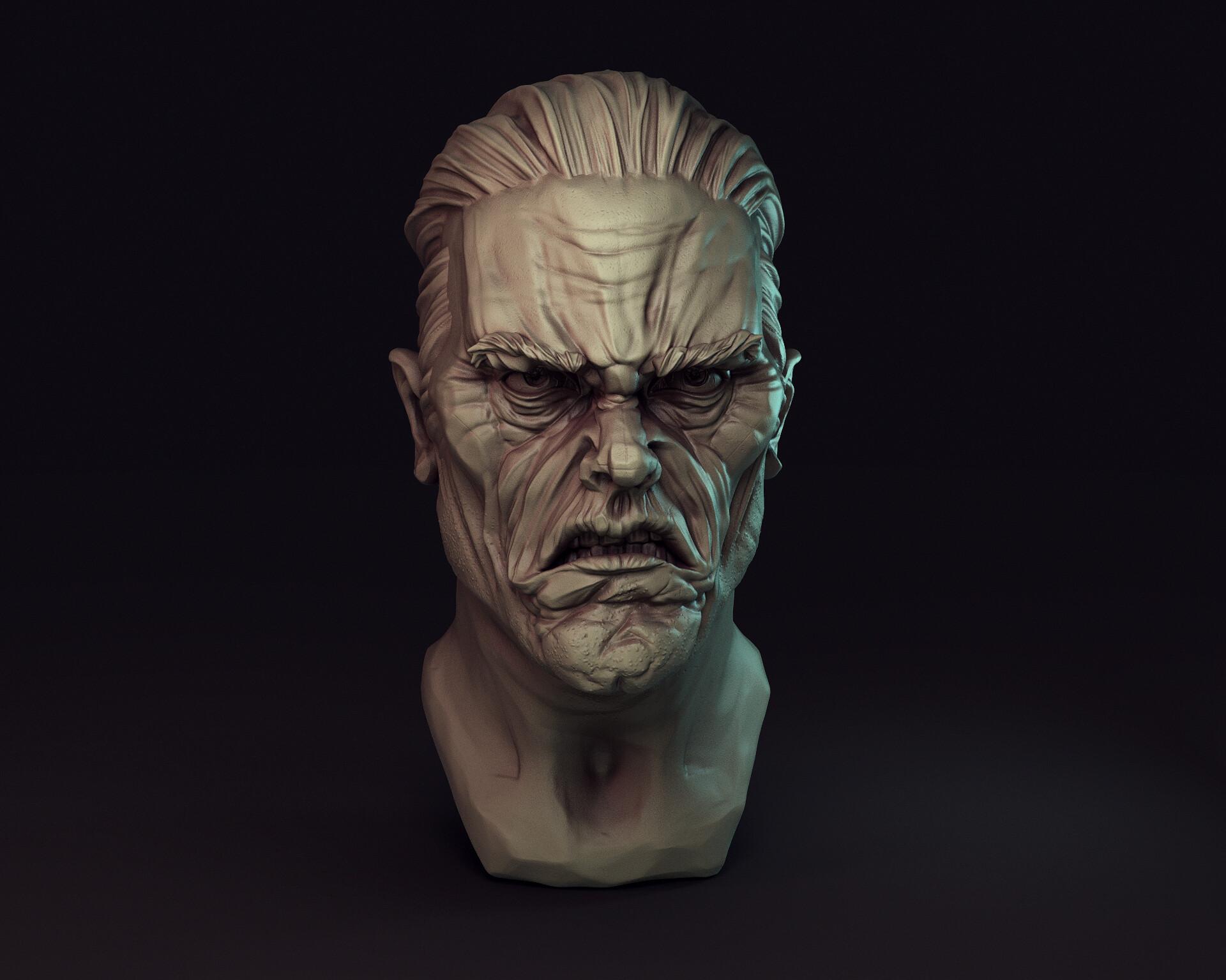 Artem bespalov angry dude artstation03