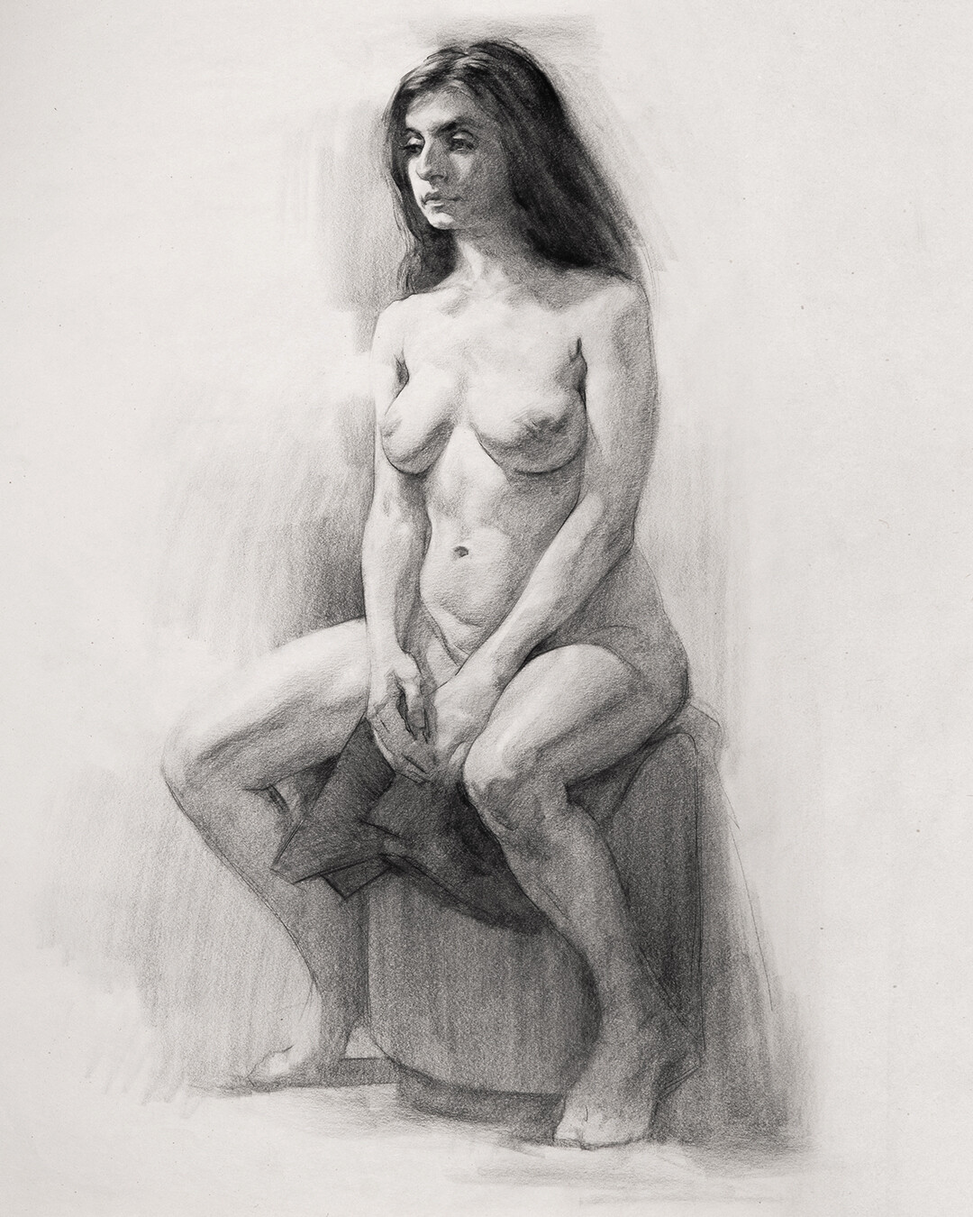Naked drawings of people