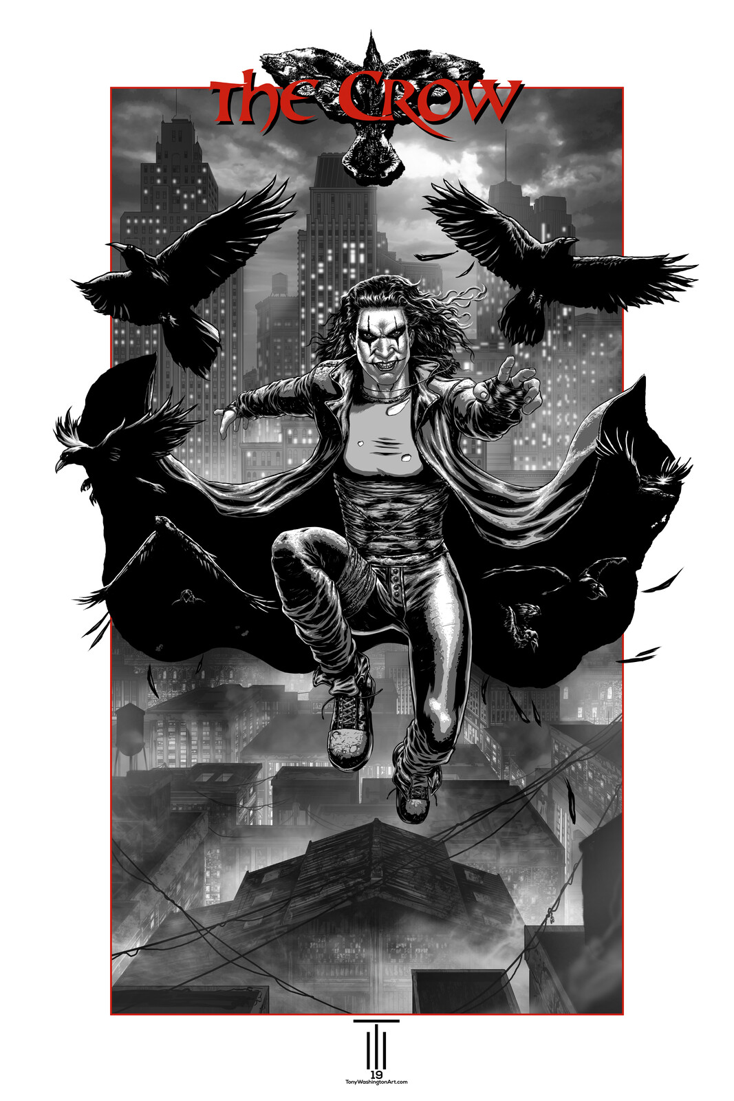 SDCC 2019 The Crow Poster