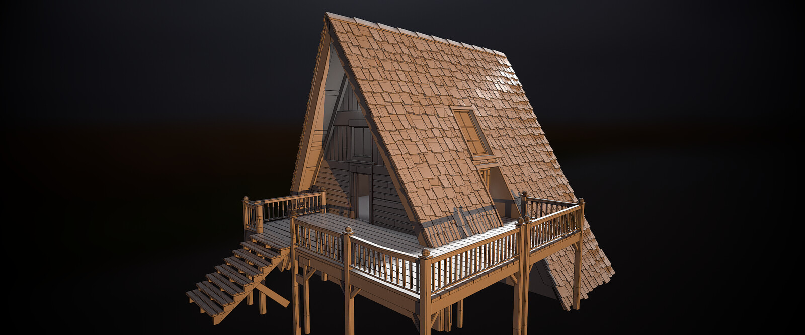 Cabin Wireframe