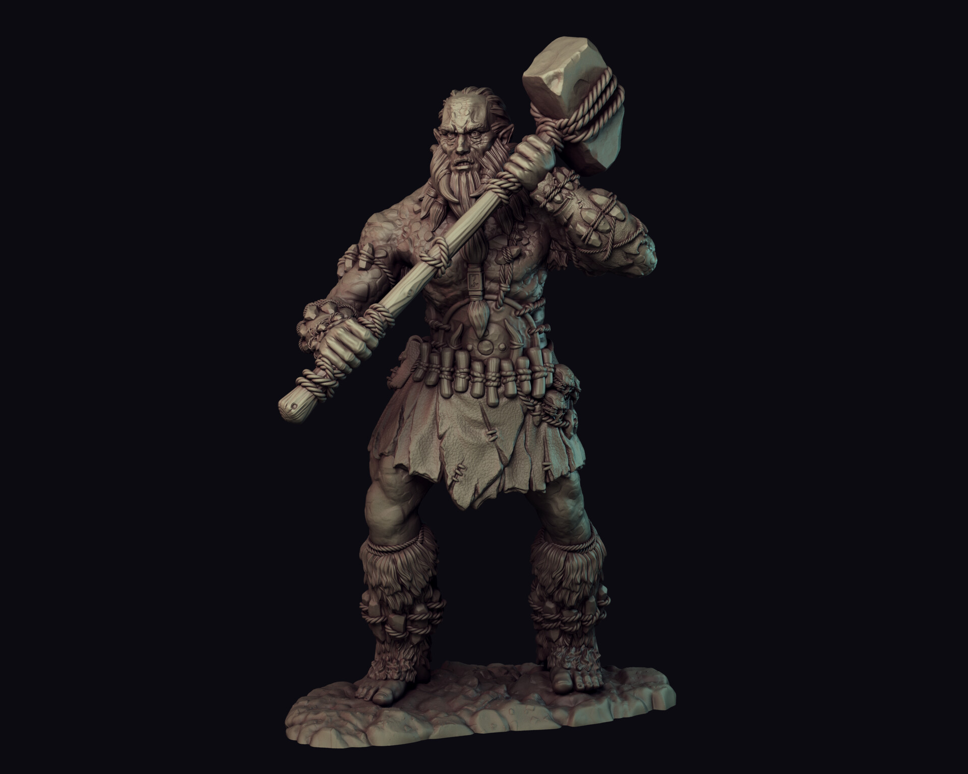 Artem bespalov stone guy01
