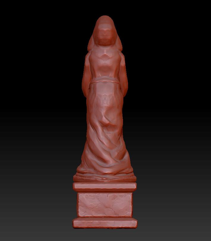Jayson bennett statuesculptback