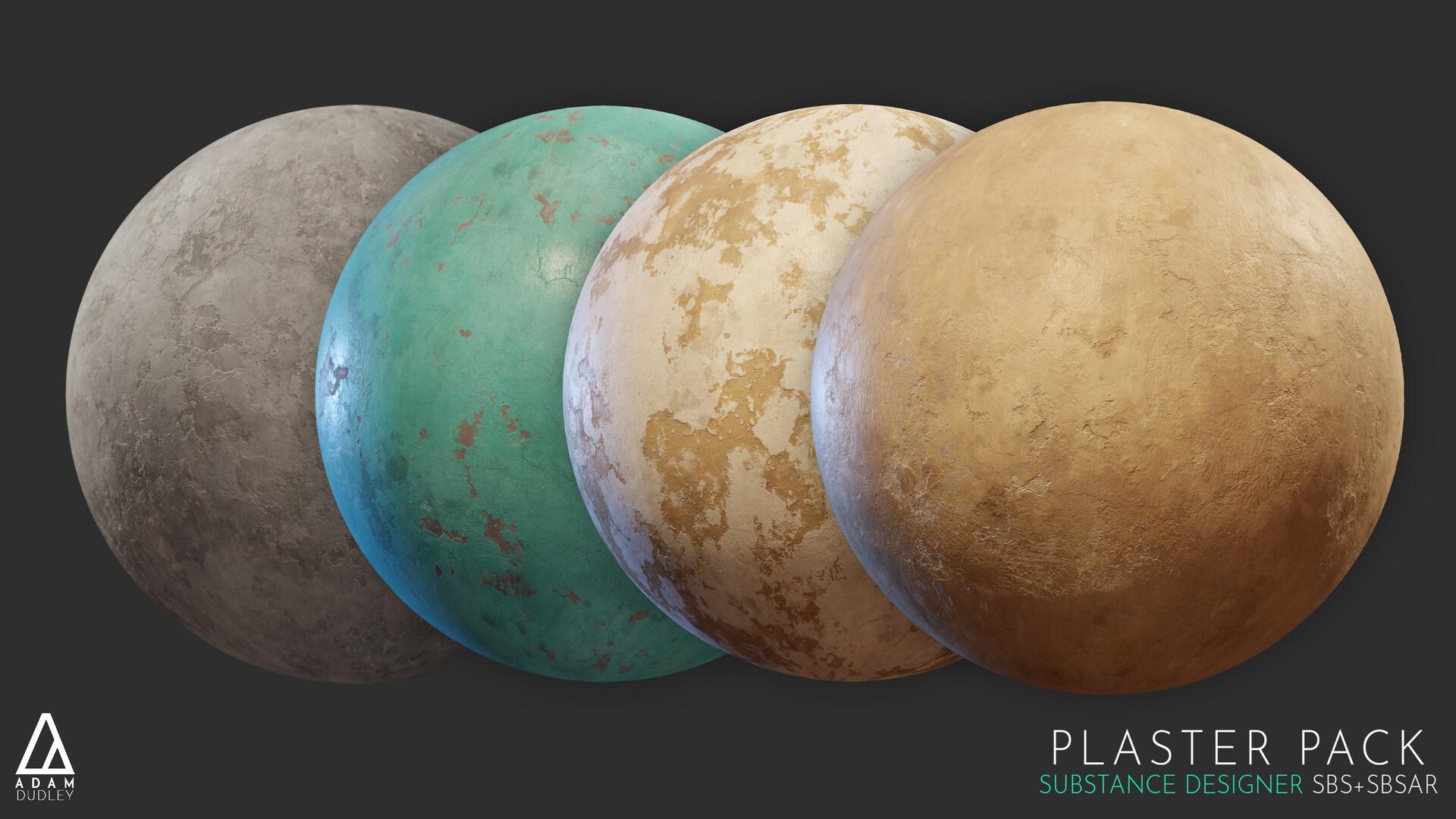 Adam dudley x plasterpack spheres 01