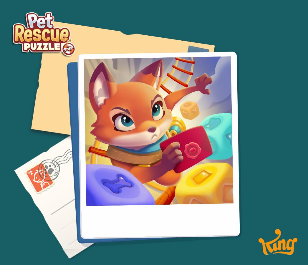 ArtStation - Pet Rescue Puzzle Saga, Irene Membrives