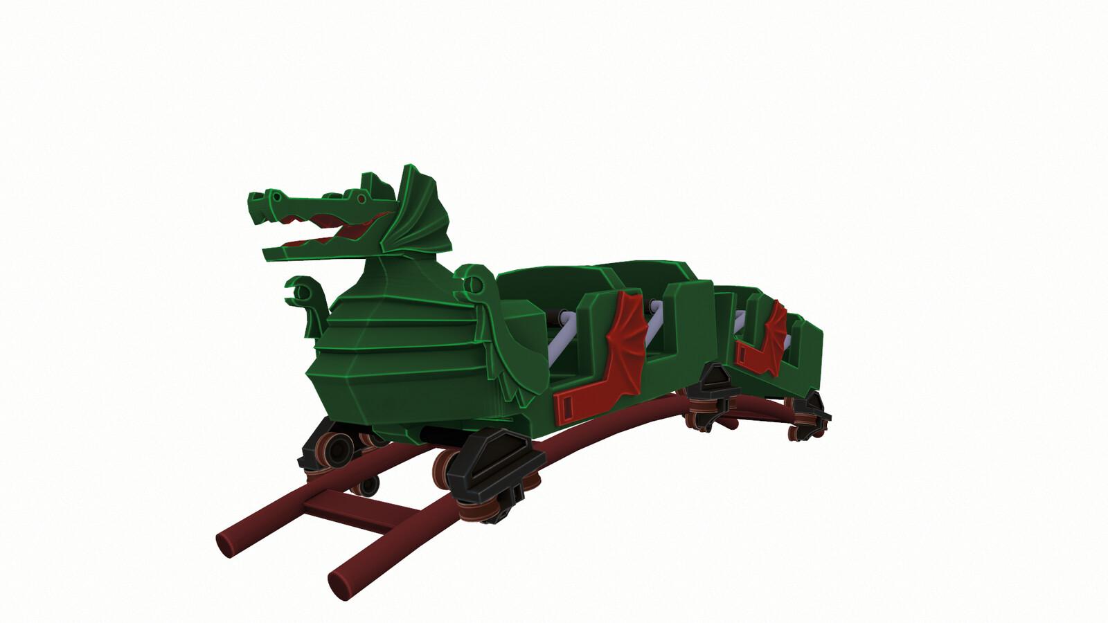 Lego Dragon Rollercoaster