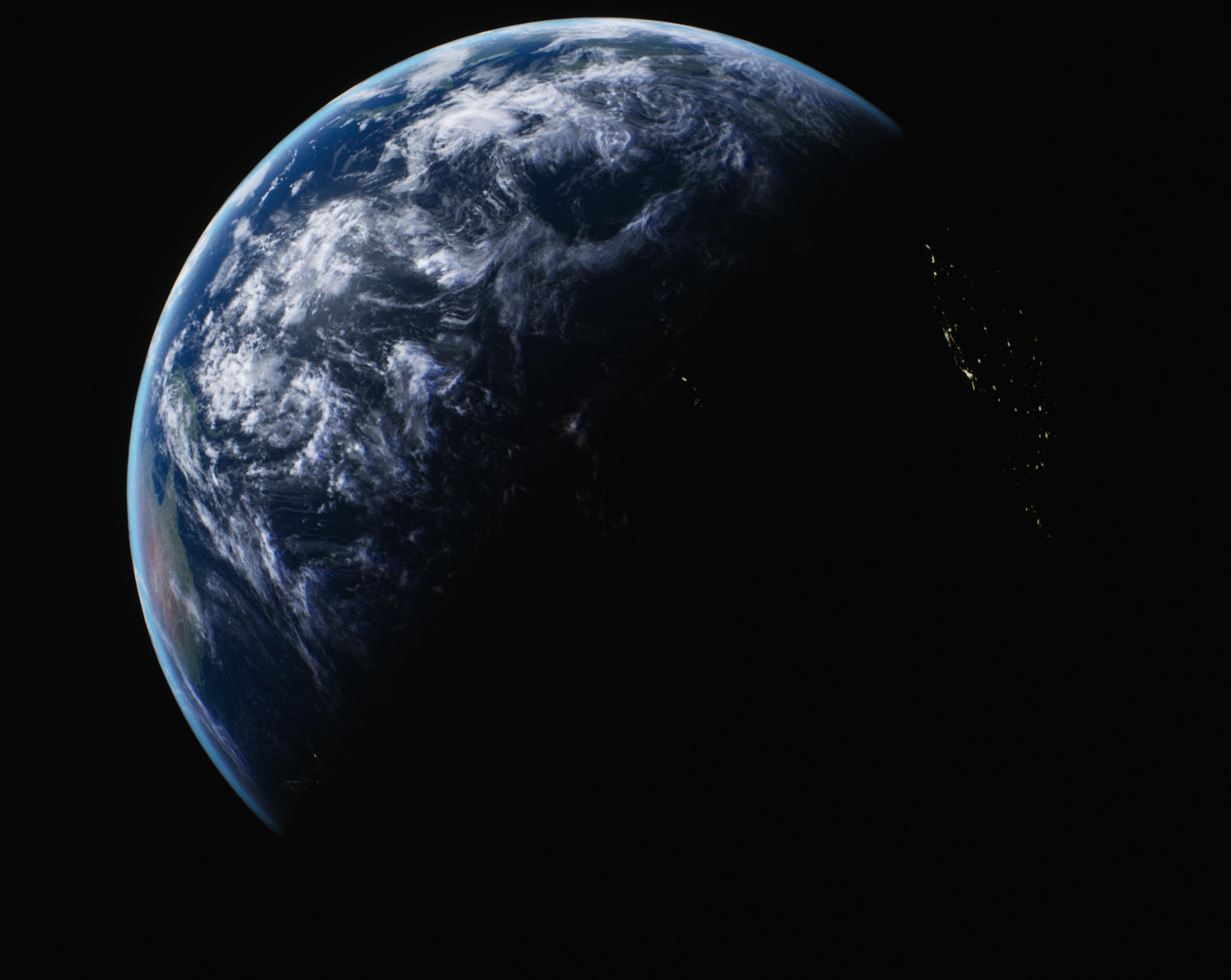 Earth beauty shot 2