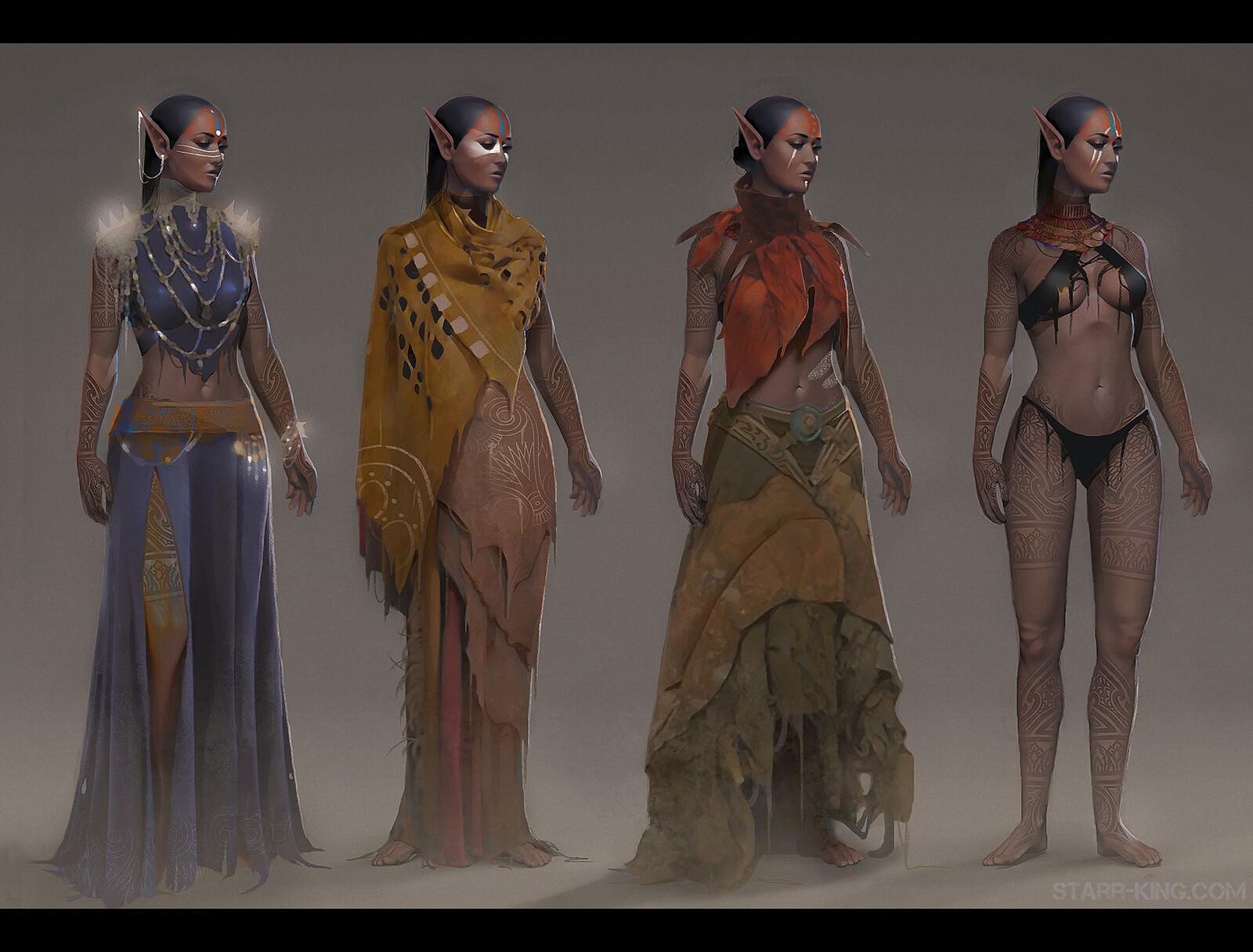 Native Elf Concept
