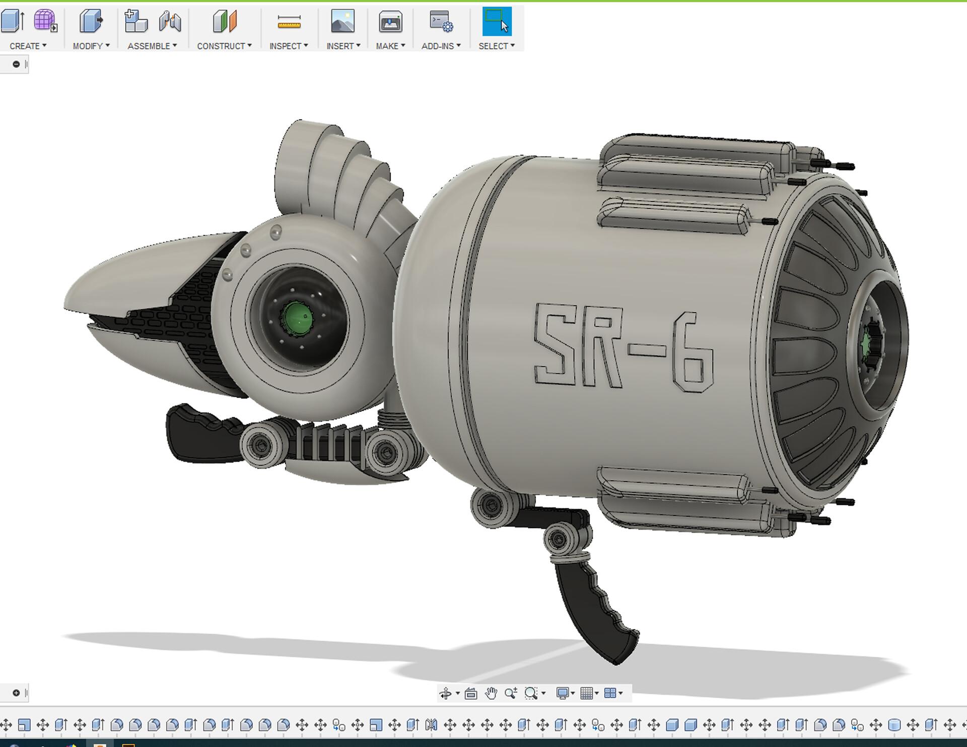 ArtStation - 3D Fusion 360, Elton Mike Salaño