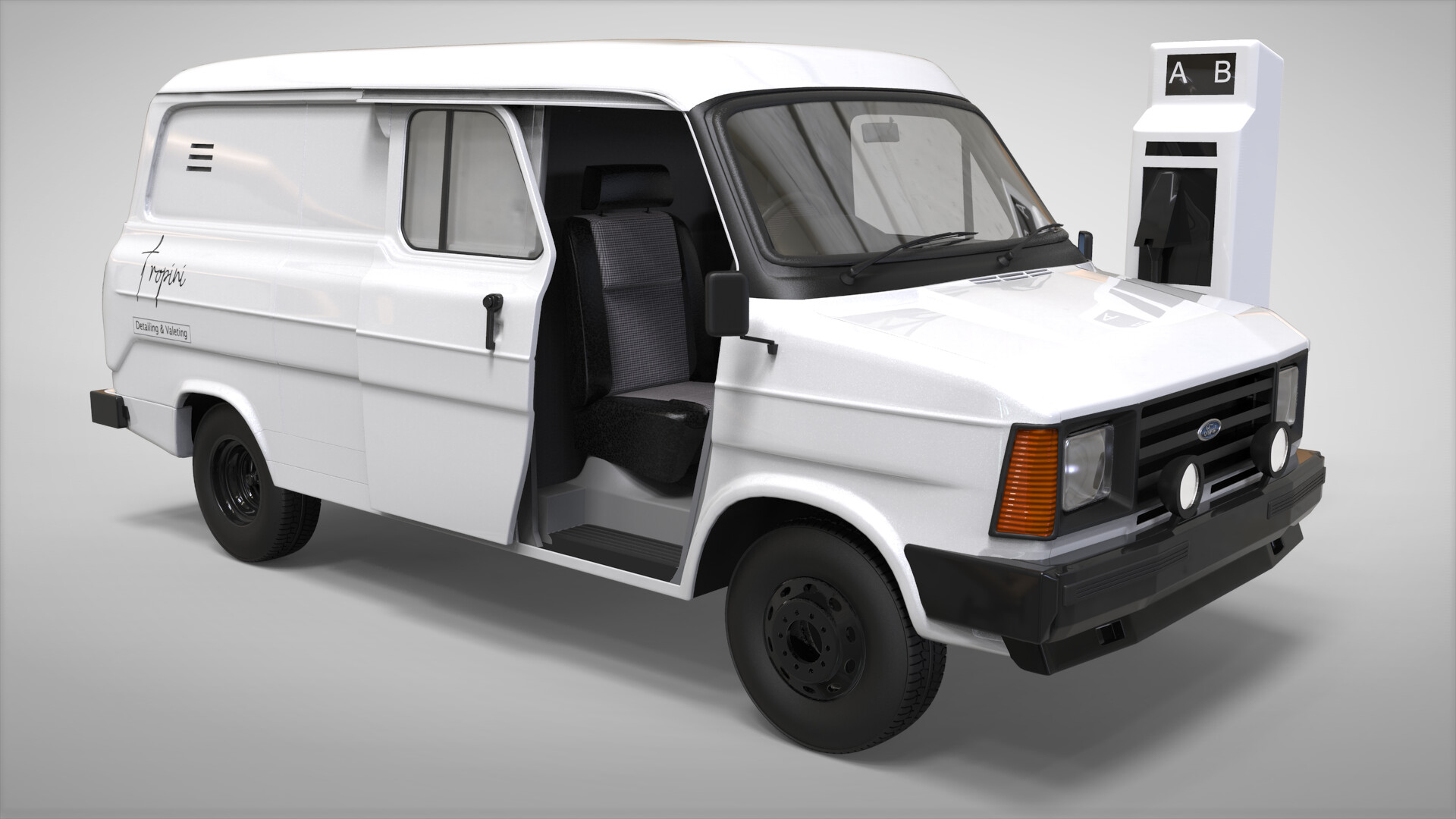 Render V2 - Long wheelbase version