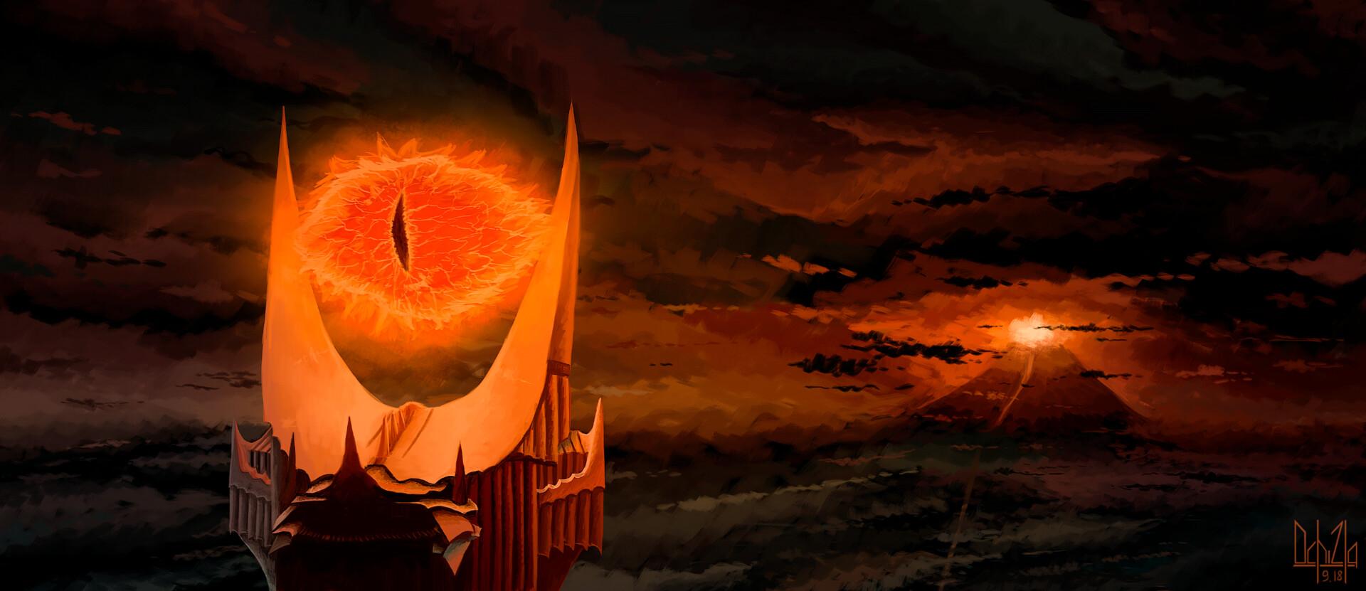 ArtStation - Mordor, Ochi Zla