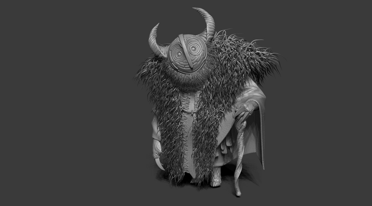 ZBrush sculpt (from the ZBrushLive streams)