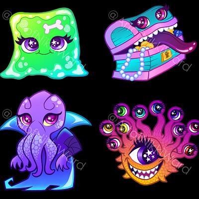 Nikki ward all d d creatures