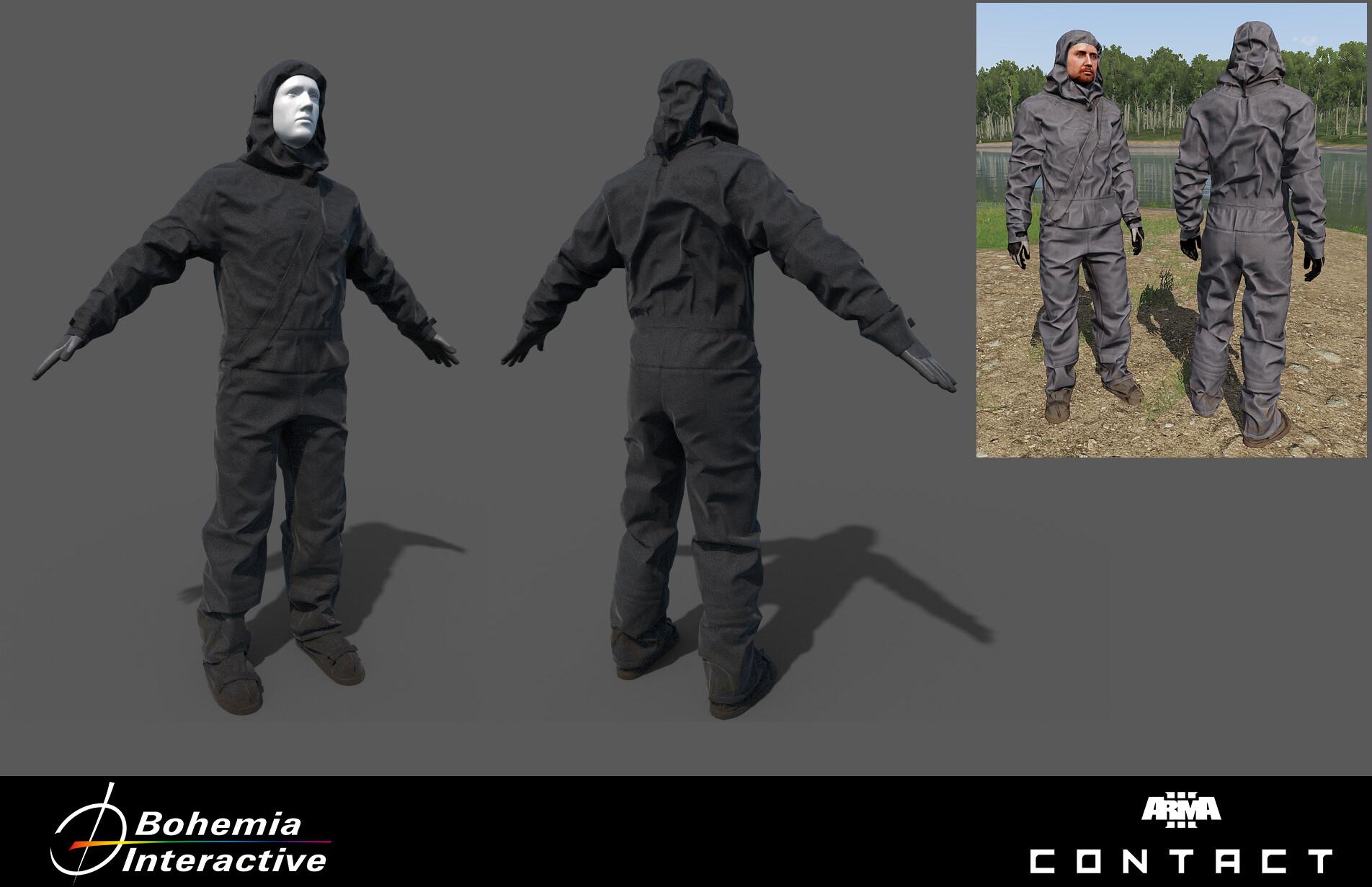 Artem Tarassenko - CBRN Suit